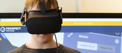 Bruker virtuell teknologi og roboter i undervisningen