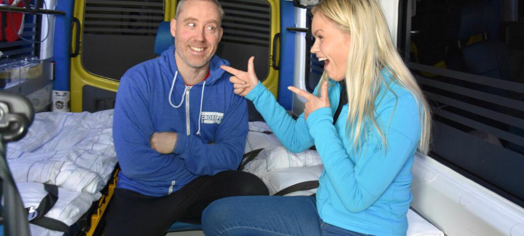Charles og Kristina vant Gullruten med NRK-serien 113