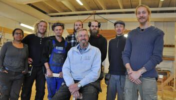 Bevarer kystkulturen på trebåtbyggerlinja