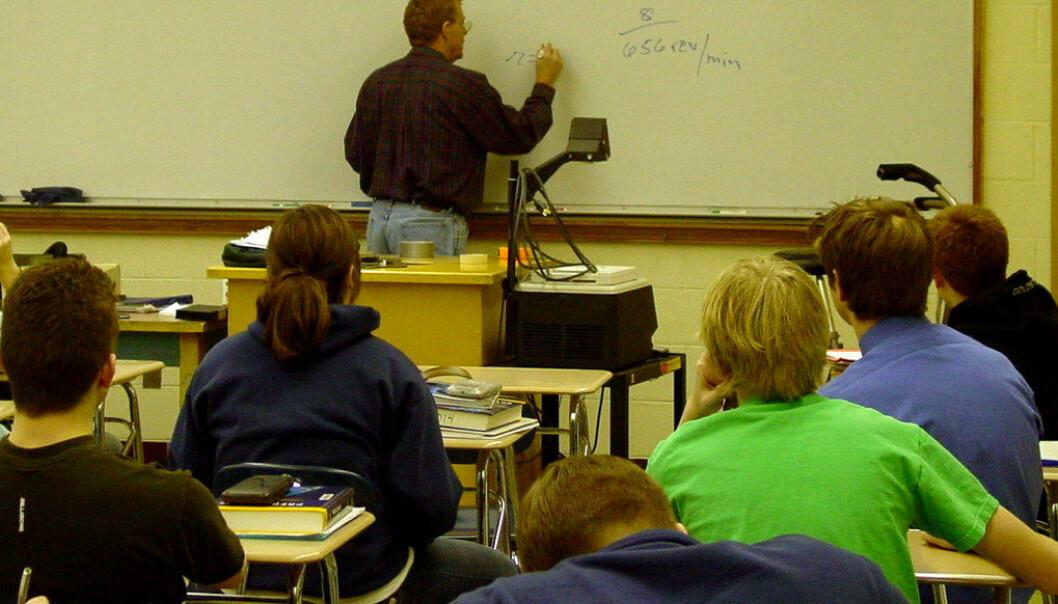 Økt lærertetthet har ikke ført til bedre karakterer. Samtidig mener både skoleledere og lærere at det har vært gunstig for arbeidsmiljøet. Ill. foto: Jeramey Jannene/Freeimages.com