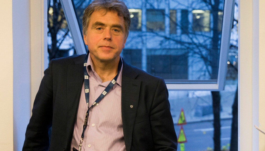 Helge Eide er områdedirektør i KS. Han sier at en norm ikke skaper en eneste ny lærer. Foto:  Berit Roald / NTB scanpix