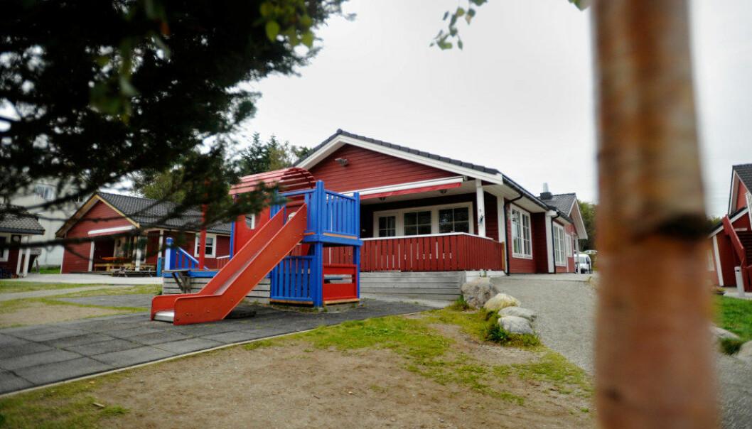 Trollhaugen barnehage i Ålesund er en av fire private barnehager i kommunen som nå har fått varsel om at tilskudd holdes tilbake eller kreves tilbakebetalt. Foto: Fridgeir Walderhaug