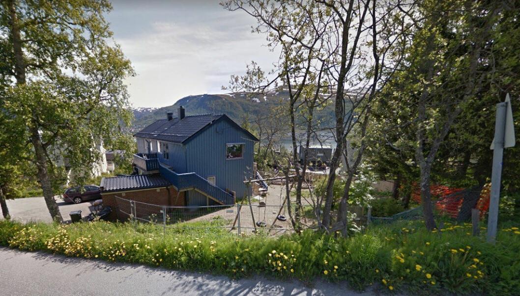 Steinerbarnehagen i Tromsø har fått varsel om at den vil bli stengt. Foto: Google
