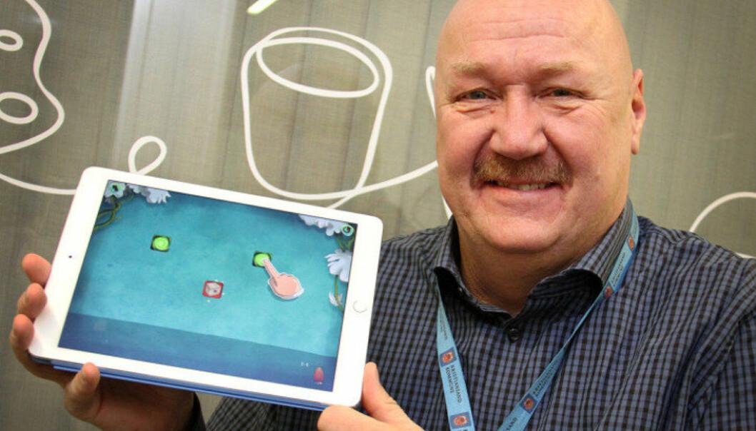 Ole Wongraven er pedagogisk IT-rådgiver i oppvekstdirektørens stab i Kristiansand og mener NDLA gir grunnskolene gode muligheter. Foto: Svein Tybakken / Kristiansand kommune