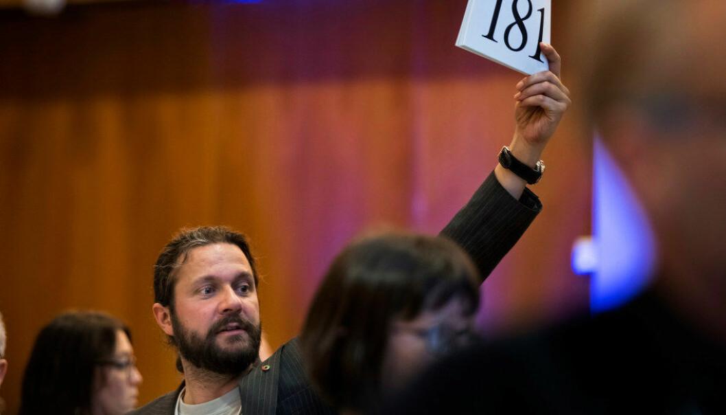 Thomas Nordgård fra Utdanningsforbundet i Troms mener NDLA kan føre til mindre valgfrihet for lærerne i valg av digitale læremidler. Foto: Tom-Egil Jensen
