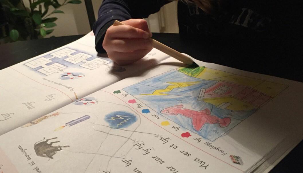 Det danske EVA-instituttet gir her fire råd til hvordan man kan gjøre skolestarten bedre for barna. Ill.foto: Paal Svendsen