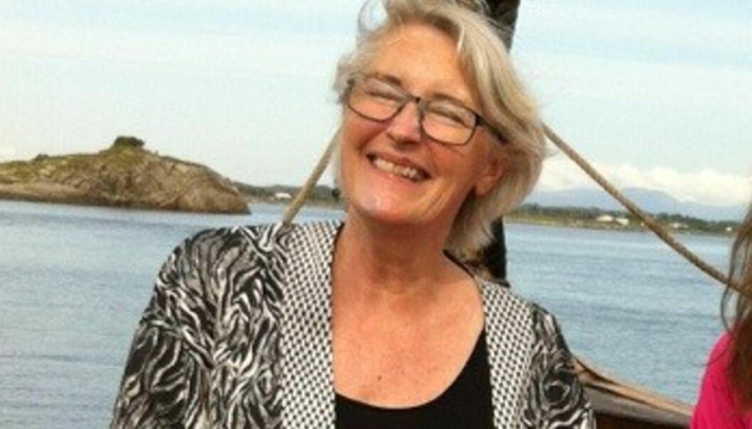 Karin Østborg, ungdomsskolelærer ved Blussuvoll skole i Trondheim, får gnistrende ros fra en mor.