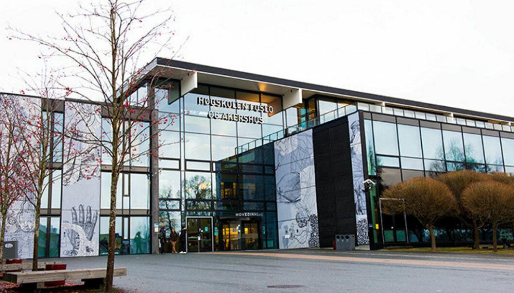 Regjeringen vil styrke yrkesfaglærerutdanningen på Høgskolen i Oslo og Akershus. Utdanningen holder til på Kjeller. Foto: Sonja Balci / HiOA