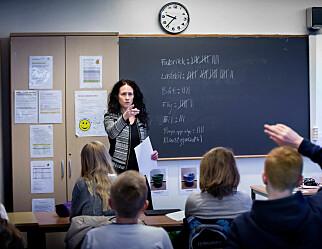 Norske lærerlønninger relativt sett lavest i Norden