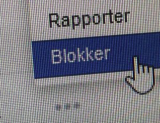 Læraren blokkerte eleven på Facebook