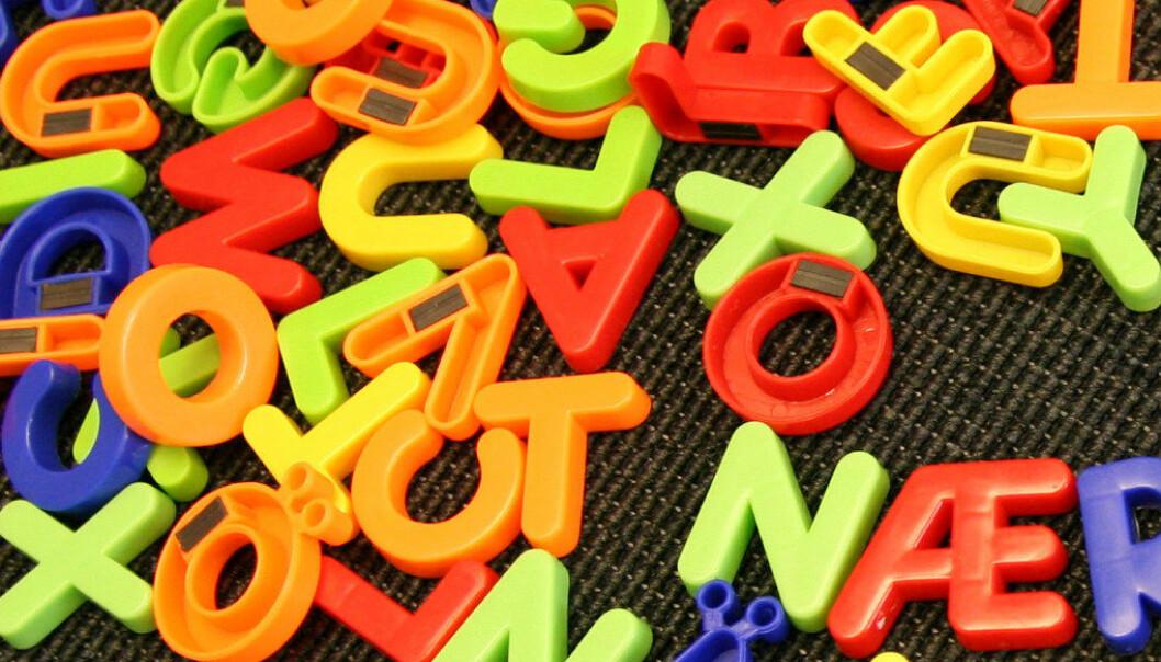 Nå skal danske elever med dysleksi få bruke ordforslagsprogram på prøver i dansk rettskrivning. Arkivfoto: Utdanning