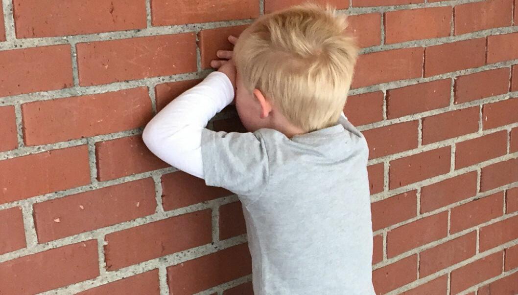 Nærmere 5 prosent av barn i Oslo sier at de ofte ble plaget av andre barn slik at de blir lei seg. Foto: Paal Svendsen