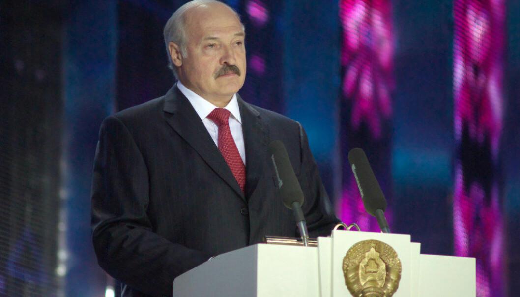 Hviterusslands mangeårige president Aleksandr Lukasjenko mener lærerne har mesteparten av ansvaret for at elever blir stressa av skolen. Arkivfoto: Sergej Serebro, Narodnyja Naviny Vitsebska
