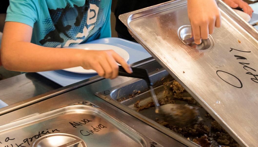 SV vil fortsatt ha skolelunsj, men det blir ikke noe varmt måltid. Arkivfoto: Utdanning