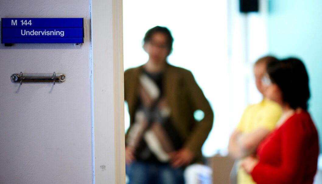 Lærere står lenger i jobb, og færre ender på uførepensjon. Arkivfoto: Erik M. Sundt.