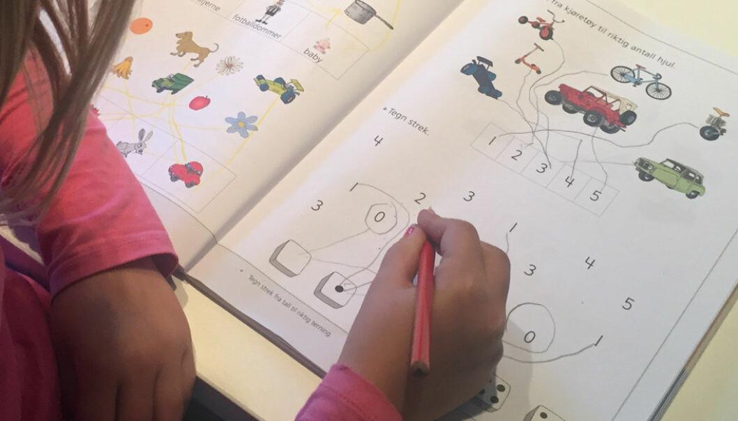 Hver tredje matematikklærer på barneskolen har mindre enn et halvt års fordypning i faget. Ill.foto: Paal Svendsen