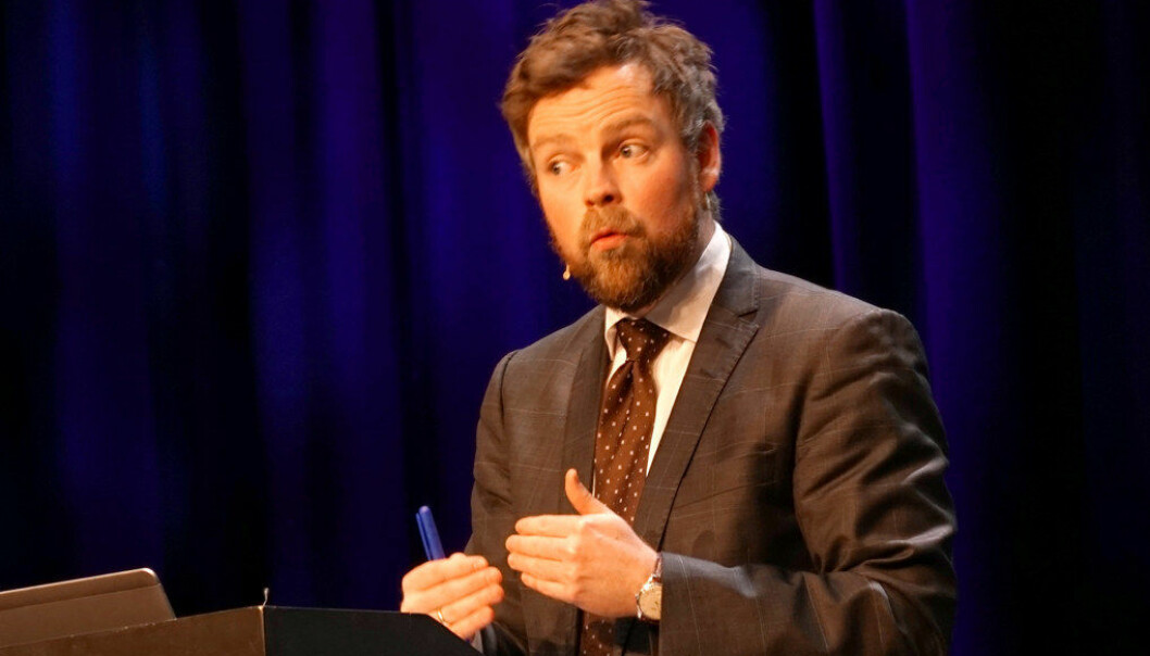 Kunnskapsminister Torbjørn Røe Isaksen bevilger 30 millioner kroner til videreutdanning for lærere i praktisk-estetiske fag. Arkivfoto: Utdanning