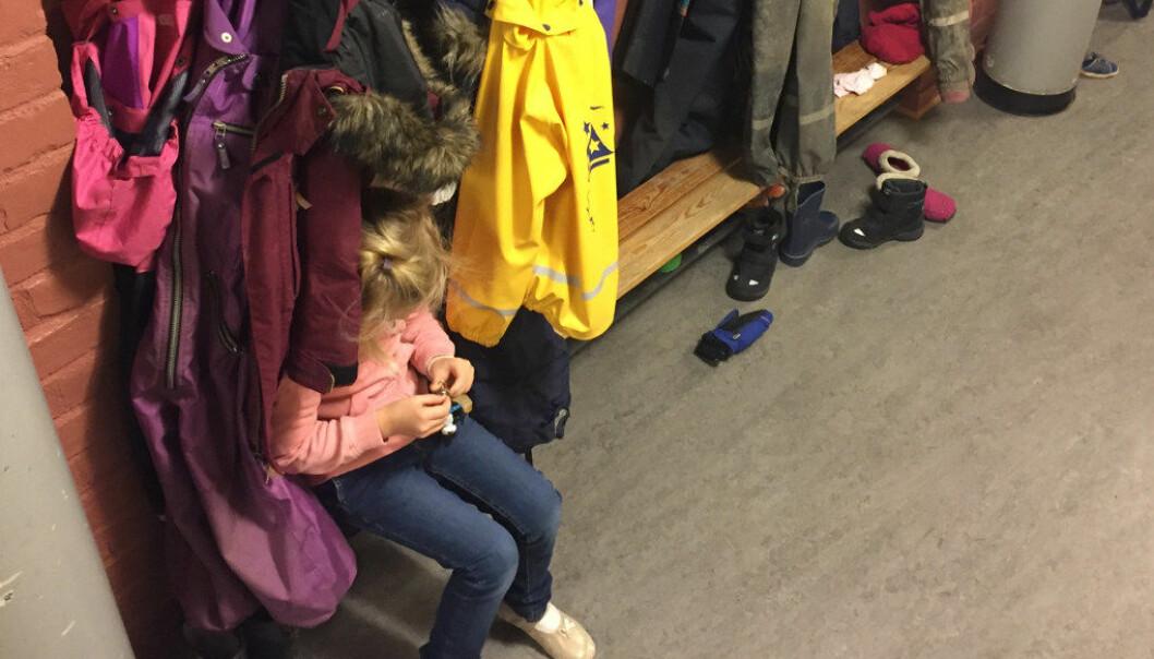 4 av 10 barn sier at voksne ike oppdaget mobbing på skolen. Foto: Paal Svendsen