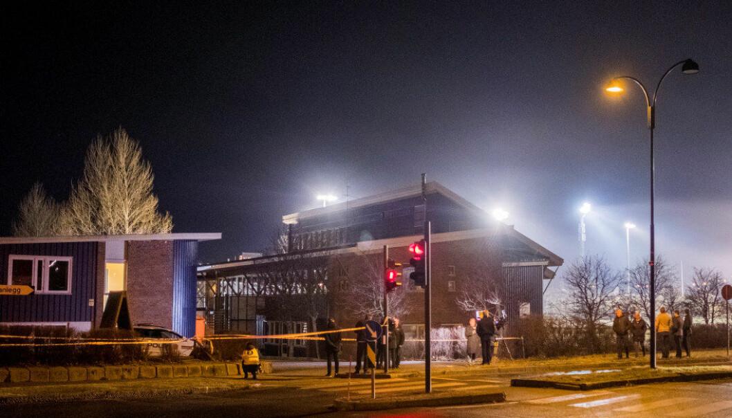Drapene ble begått ved Wilds Minne skole i Kristiansand. Nå har en 15-åring tilstått. Foto: Tor Erik Schrøder / NTB scanpix