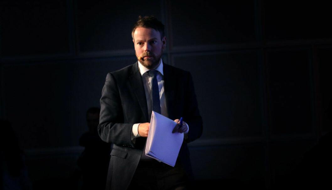 Kunnskapsminister Torbjørn Røe Isaksen vil ha mer samarbeid mellom norske og tyske videregåendeelever. Arkivfoto: Jørgen Jelstad.