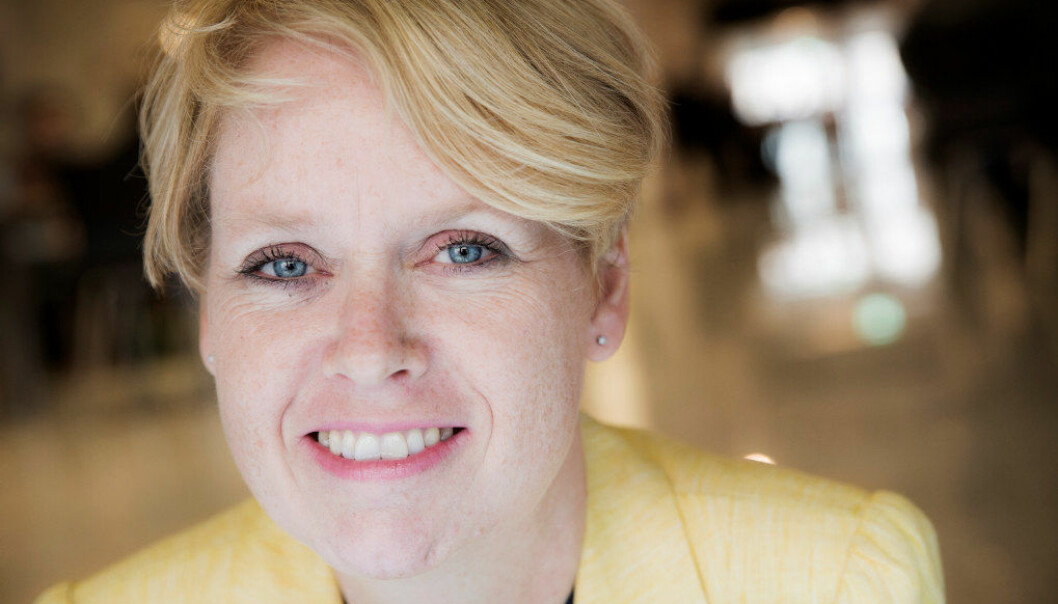 Aps Marianne Aasen meiner at studiefinansieringa bør bli knytt opp til grunnbeløpet i Folketrygda Foto. Erlend Aas / NTB scanpix