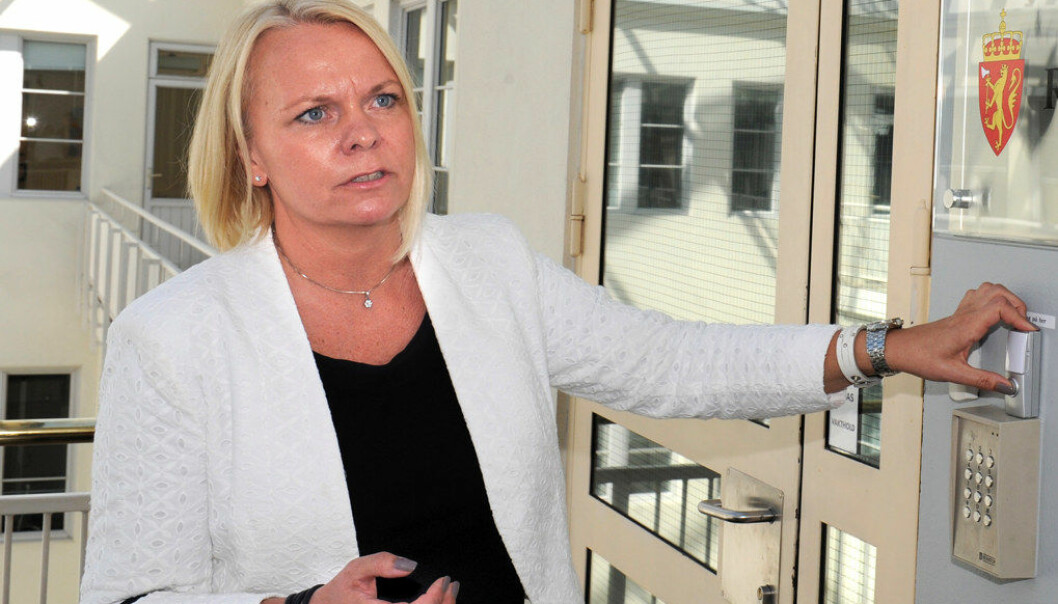 Forhandlingsdirektør i KS, Hege Mygland, sier KS tar dommen i Arbeidsretten til etterretning. Foto: Terje Pedersen / NTB scanpix