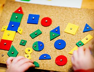Barnehagene arbeider mer med matematikk