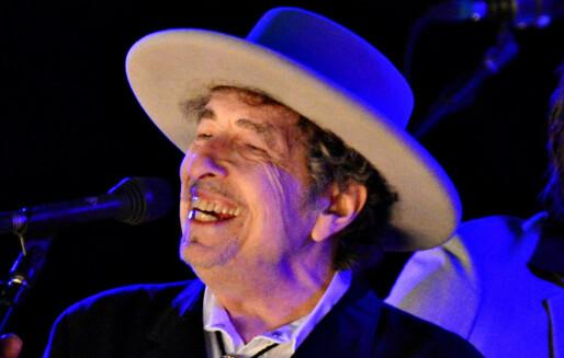 Bob Dylan får Nobelprisen i litteratur