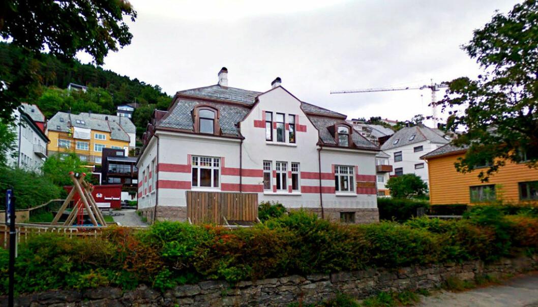 Styret ved Jugendby barnehage i Ålesund har tatt ut 1,9 millioner kroner i honorarer de siste sju årene. Foto: Google.