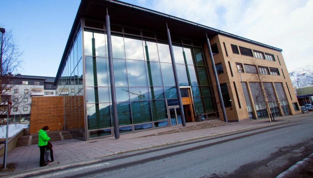 Nord-Troms tingrett i Tromsø der en mann i januar fikk forvaringsdom for overgrep mot barnehagebarn. Dommen er nå rettskraftig. Foto: Jan-Morten Bjørnbakk / NTB scanpix