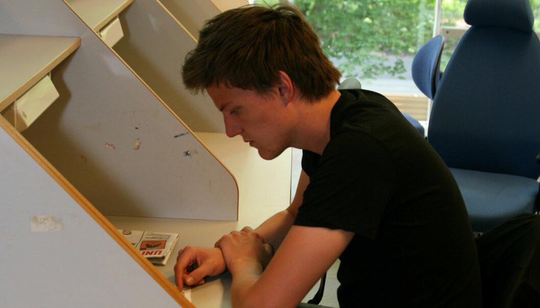 Pengene fra Lånekassen strekker ikke til for norske studenter. Arkivfoto: Utdanning