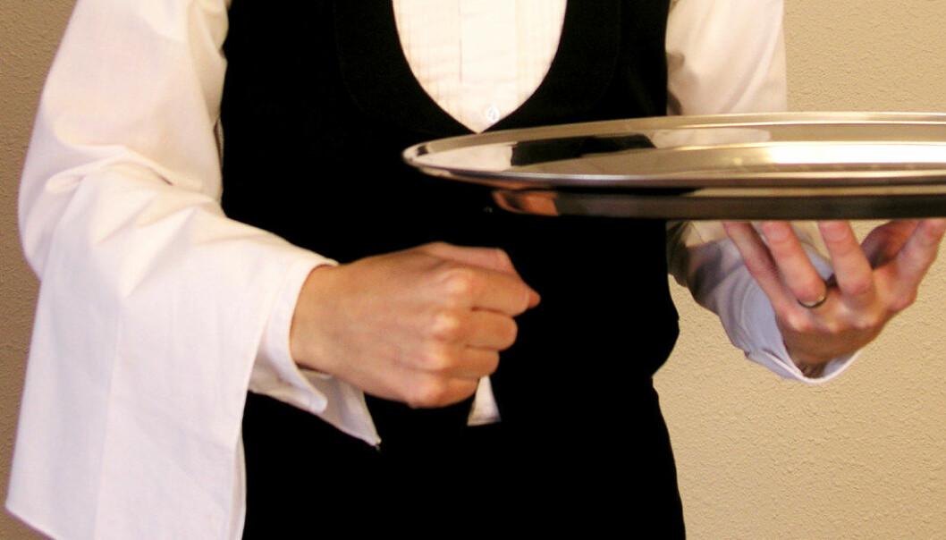 Ingen lærlingar vil servere kongefamilien i Kristiansand 29. juni. Ill.foto: Karl-Erik Bennion, Free Images