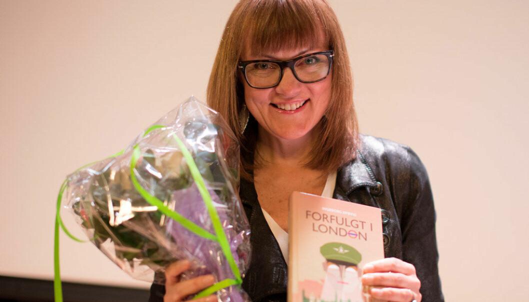 Ingeborg Dybvig fikk Bokslukerprisen 2016. Foto: Foreningen Les.