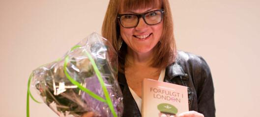 Ingeborg Dybvig fikk Bokslukerprisen