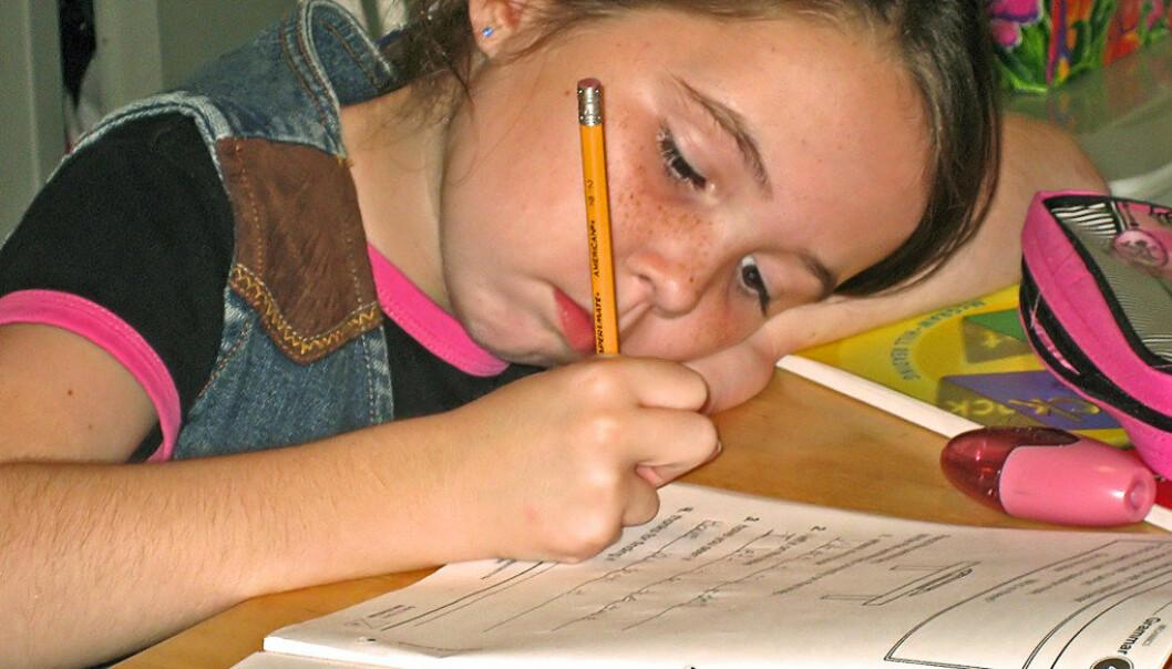 Evnerike barn bør ikke arbeide alene for seg selv, men med andre barn, viser en ny rapport. Ill.foto:  FreeImages