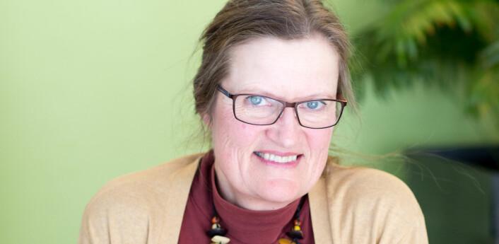 – I lek er alt mulig, og det er ingen risiko for å gjøre feil, sier professor Anne Greve ved Oslo Met.  Foto: Charlotte E. Wiig