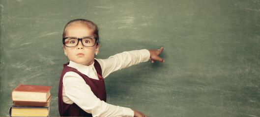 – Vi må slutte å argumentere barnehagelærerne ut av barnehagen