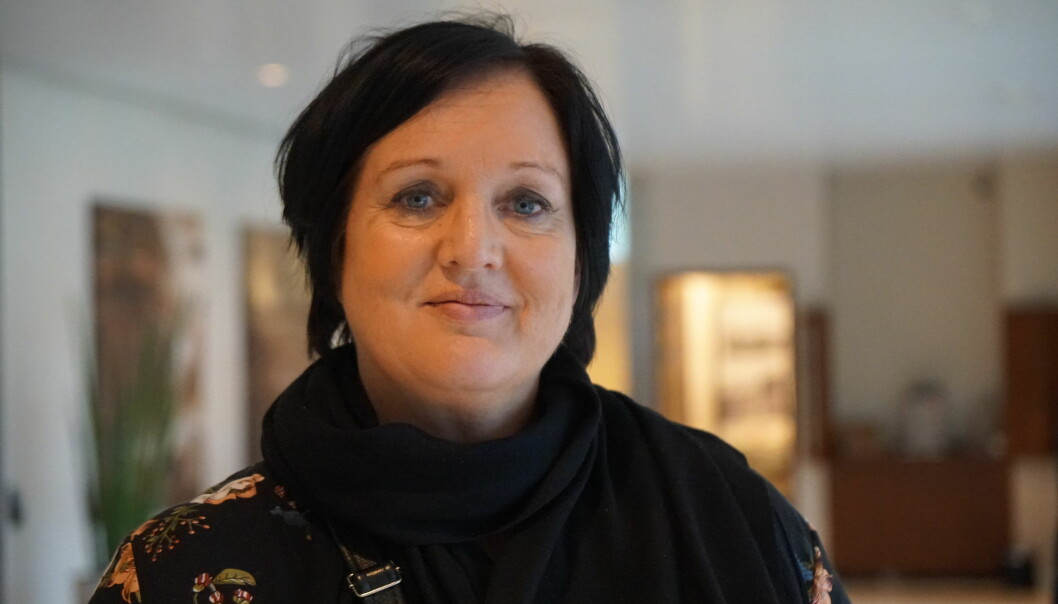 Aina Skjefstad Andersen, leder i Utdanningsforbundet Oslo. Foto: Marianne Ruud