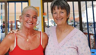 Lærer og barnehagelærer Karen Anna Børresen (66) (t.v.) startet barnehage på Gran Canaria i 2012, og har fått med seg barnehagelærer og småskolelærer Elin Neergaard. Foto: Marianne Otterdahl-Jensen