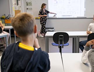 Ved Vollebekk skole i Oslo har de fraværsgrense fra 1. trinn