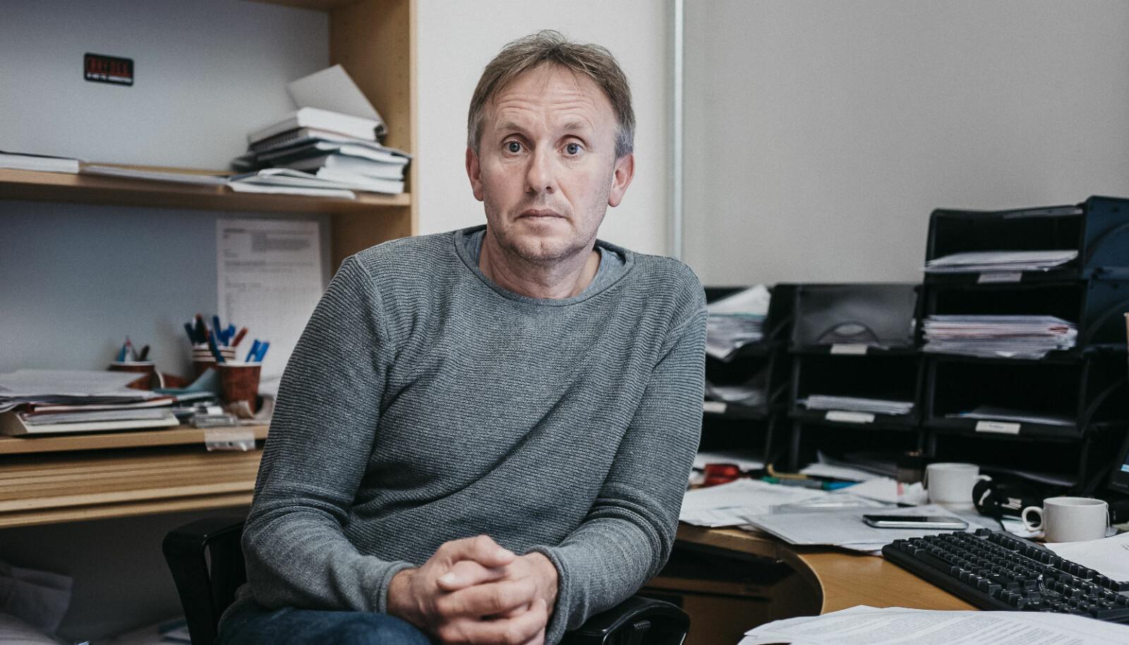 Hans Gunnar Meland, politietterforsker. FOTO: Tommy Ellingsen