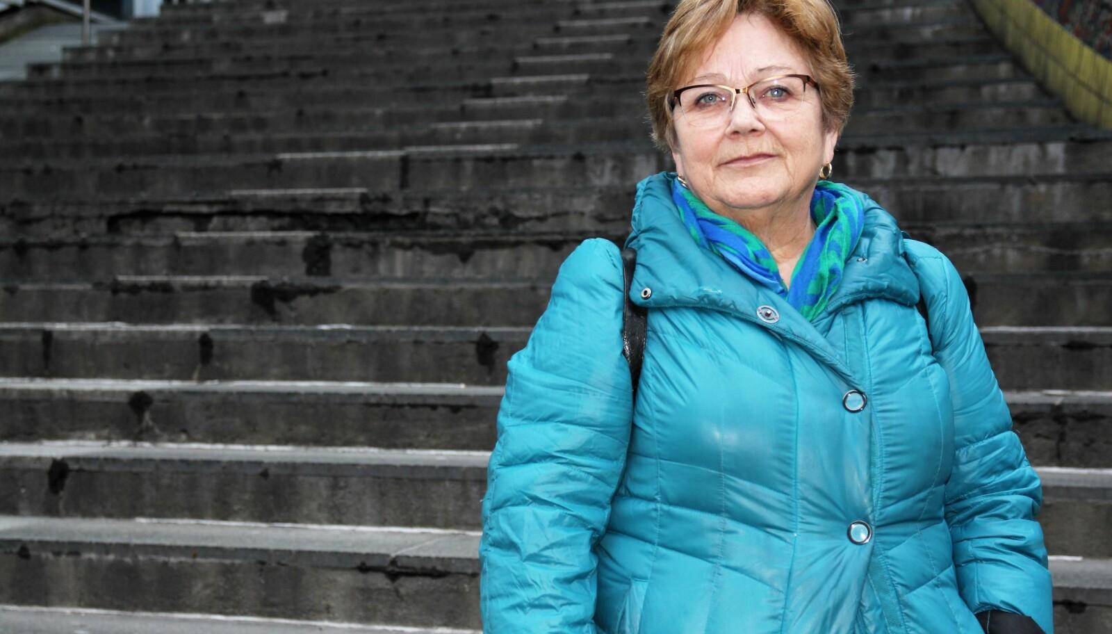 Lisbeth Sandtrøen, tidligere rektor ved Vardø videregående skole. FOTO: Tommy Ellingsen
