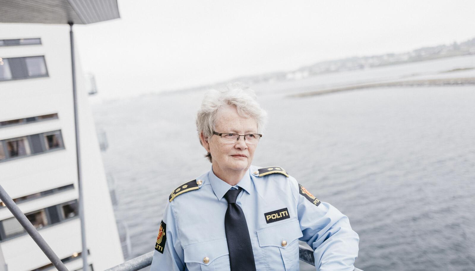 Brita Lysaker, politiadvokat. FOTO: Tommy Ellingsen
