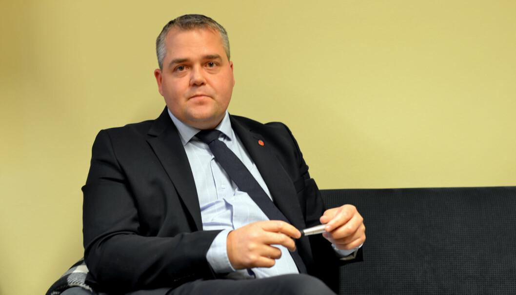 Frps Roy Steffensen lover at hans parti vil legge forholdene best mulig til rette for private barnehager. Foto: Snorre Schjønberg