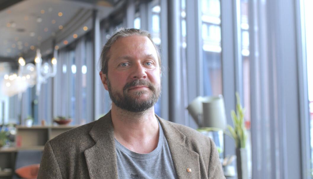 Elevens rett til en kvalifisert lærer er den viktigste saken for UDF Troms og fylkesleder Thomas Nordgård i høstens valg. Foto: Hans Skjong