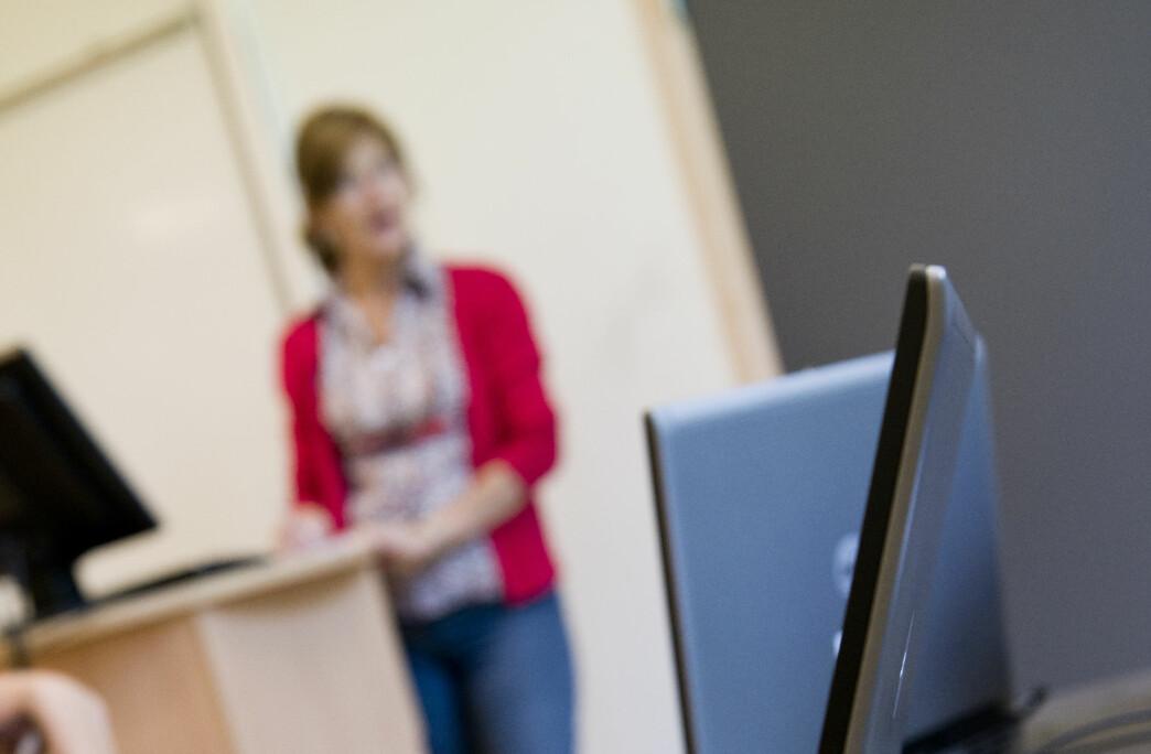 Lærere har en juridisk plikt til å undervise om seksualisert vold, meiner Beate Goldschmidt-Gjerløw ved Universitetet i Agder. (Illustrasjonsfoto: Erik Sundt)