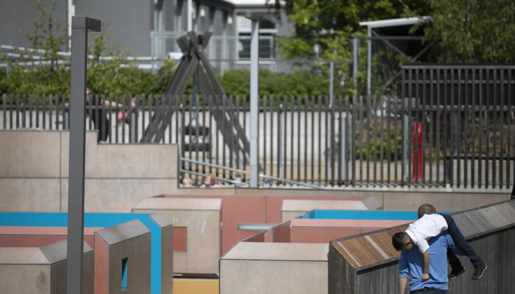 I barnehagene er det flere ansatte med innvandrerbakgrunn, enn i skolen. Foto: Maja Ljunberg Bjaaland