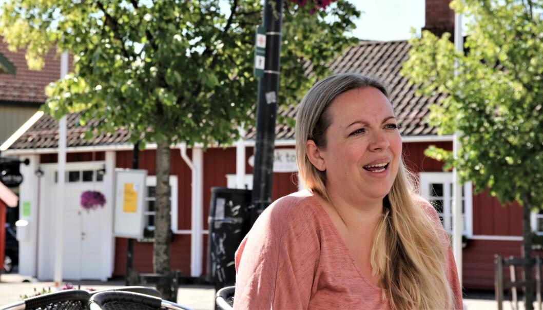 Engasjert mor: Vibeke Martinsen er bekymret over alle kravene som stilles til barn i dag. Foto: Albin. H. Ødegaard