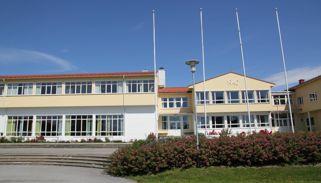 Teaterlinjen på Romerike folkehøyskole på Østlandet er en av landets mest populære i landet. Foto: Sonja Holterman