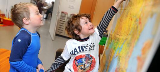 Barnehagebarna får tilvenning på SFO tre måneder før skolestart
